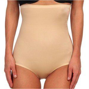 Spanx Undie tectable High Waisted Shape Panties L